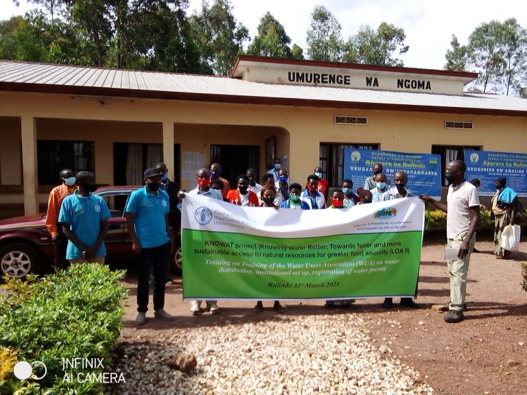 Training of Yanze Irrigation Water Users' Organization
